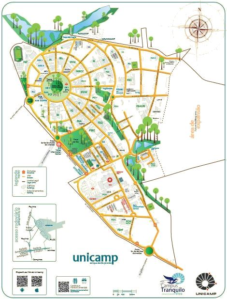 Universität Campinas, Brasilien